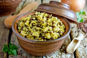 bigstock-Mujadara--Lentils-And-Rice-Pi-264050188